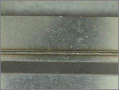 SUS重ね溶接(ビード径:0.13㎜)